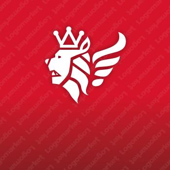 高級と王者と威厳のロゴ