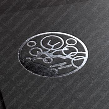 伝統と未来 とシンプルのロゴ