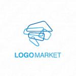 未来とシンプルとアイデアのロゴ
