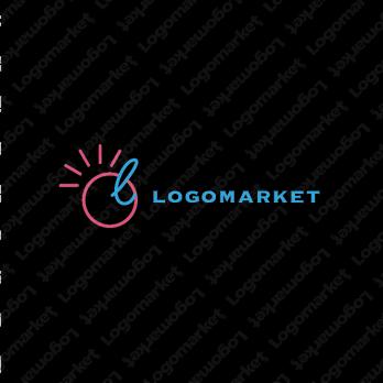 Lと太陽とポジティブのロゴ