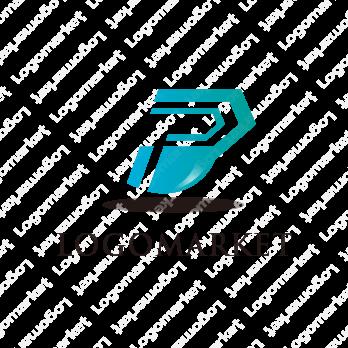 Pと未来とスピードのロゴ