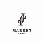 アルファベットとJ/Sとミニマルラインのロゴ