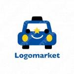 タクシーと代行と車のロゴ