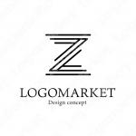 Zとシンプルと上品のロゴ