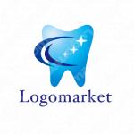歯と清潔と輝くのロゴ