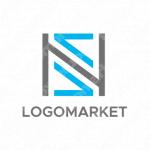 N/Sとスマートとスタイリッシュのロゴ