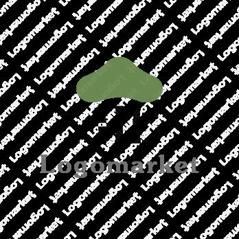 松と竹と和モダンのロゴ