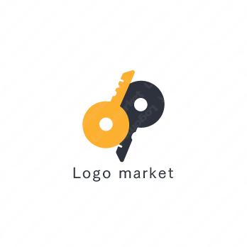 鍵と信頼と家探しのロゴ