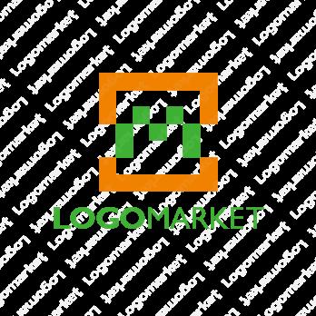 Mとビットとシンプルのロゴ