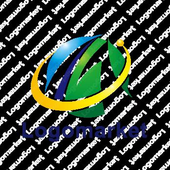 Mとグローバルと明るい未来のロゴ