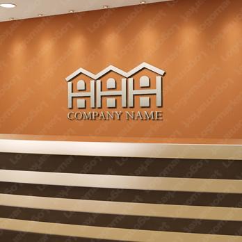 家と暮らしとHのロゴ