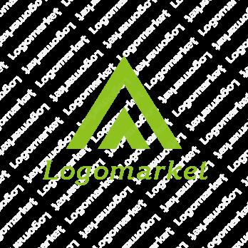 Aと未来と三角形のロゴ