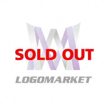 WとMとシャープのロゴ