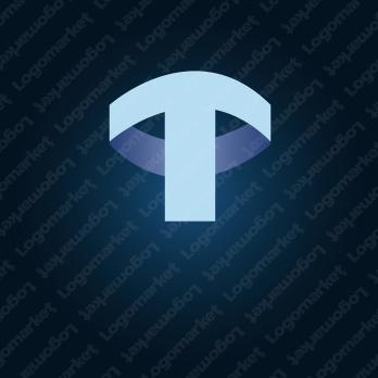 矢印と先進的とTのロゴ