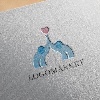 ハートと愛と出会いのロゴ