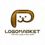 ペットと犬と動物のロゴ
