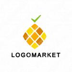 パイナップルとセキュリティ とビックデータのロゴ