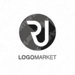 RとJとミニマルラインのロゴ