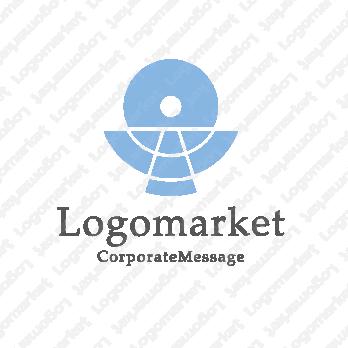 円・サークルと器とくすりのロゴ