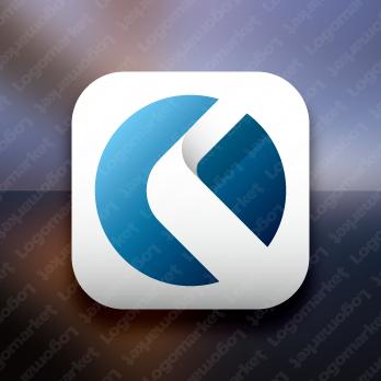 KとCと未来的のロゴ