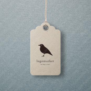 鳥と動物とキャラクターのロゴ
