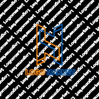 「H」と未来とラインのロゴ