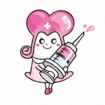 女の子と医者と可愛いのロゴ
