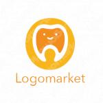 歯とキャラクターとほのぼののロゴ