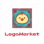 肉まんと小籠包と点心のロゴ