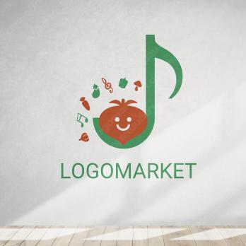 料理と音楽と楽しいのロゴ