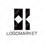 シンプルと幾何学と硬派のロゴ