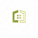 家と安心感とシンプルのロゴ