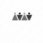 繋がりと男女とMのロゴ