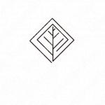 葉っぱと繋がりと信頼感のロゴ