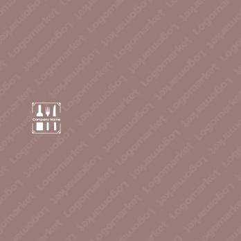 レストランと料理とワインのロゴ