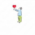 愛情と優しさと与えるのロゴ