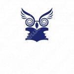 本と学ぶとフクロウのロゴ