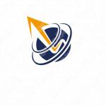 向上心とステップアップと革新的のロゴ
