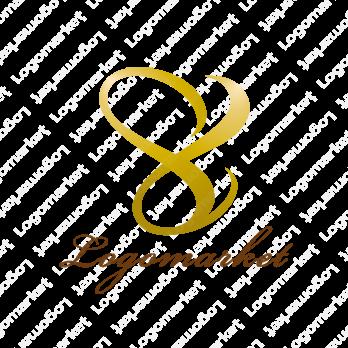 8とインフィニティとハートのロゴ