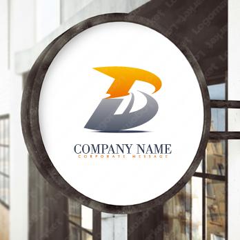 未来と先進的とBのロゴ